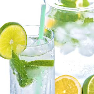 mineral-water-lemon